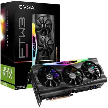 Tarjeta de Video GPU EVGA GeForce RTX 3090 FTW3 ULTRA GAMING