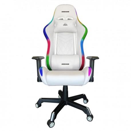 Silla Gamer RAZORBACK con Luz RGB - ARTIC WHITE