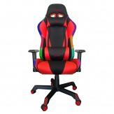 Silla Gamer RAZORBACK con Luz RGB - INFERNO RED