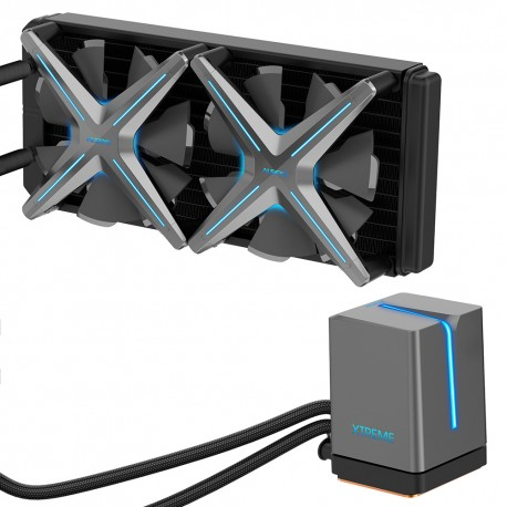 Sistema de Refrigeración Líquida ALSEYE Xtreme X240 Gray