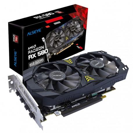 Tarjeta de Video ALSEYE AMD RX 580 8G DDR5