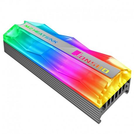 Disipador de Calor JONSBO M.2-2 ARGB para Discos M2