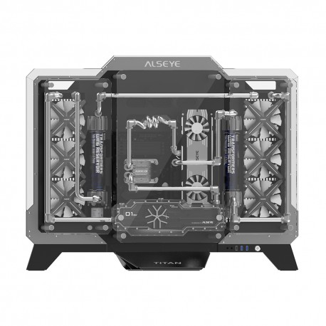 Gabinete Gamer ALSEYE Titan + 2 Sistemas de Refrigeración X360